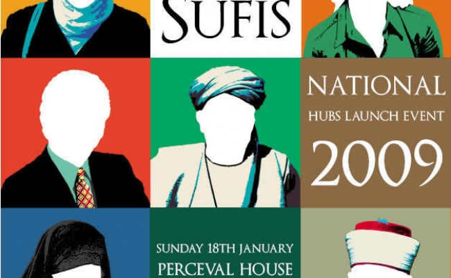 The United Colours of Sufis took place at Perceval House, 14/16 Uxbridge Road, Ealing, London W5 2HL