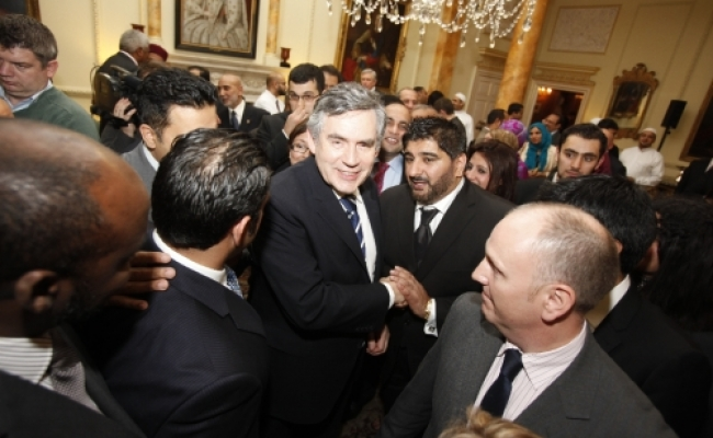 CSCA Director Shokat Malik meets Prime Minister Gordon Brown