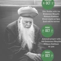 Mawlana Shaykh Muhammad Hisham Kabbani UK Oct 2017 1