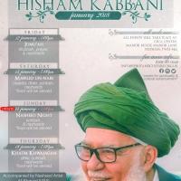 Mawlana Shaykh Muhammad Hisham Kabbani UK Tour Jan 2018 1